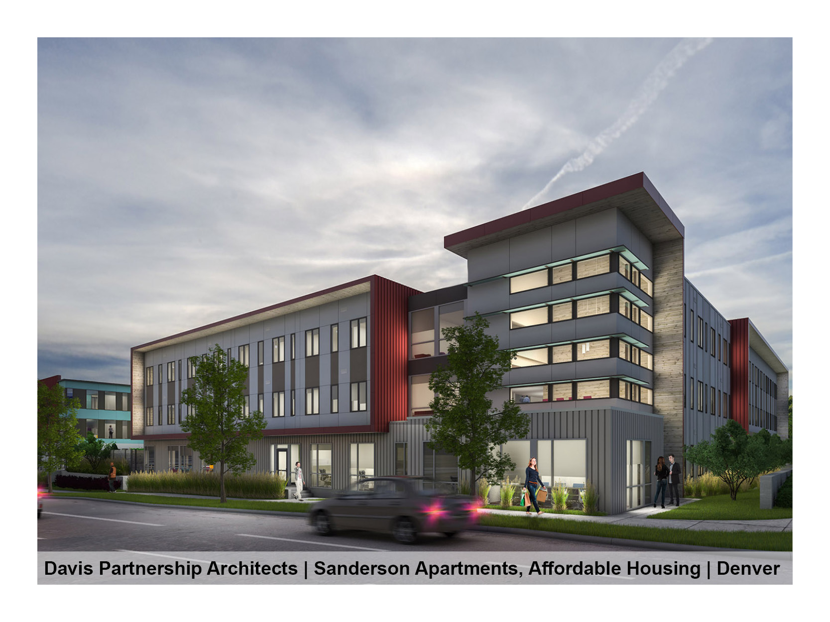 Davis Partnership Architects | Sanderson Apartments, Mental Health Center of Denver Multifamily