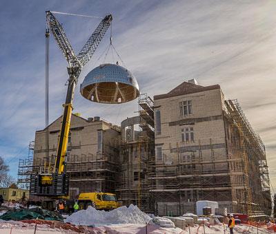 Dome Raising
