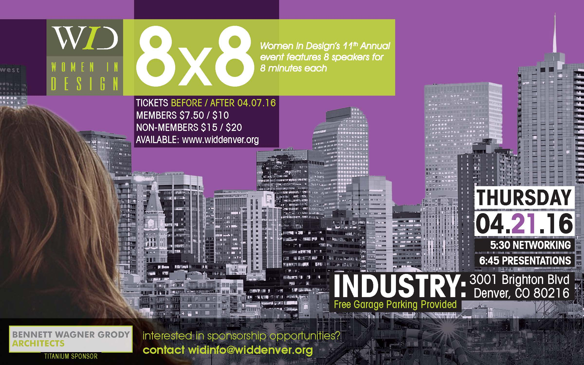 Ideas for a Growing City: Women in Design Hosts 11th Annual 8X8 Event