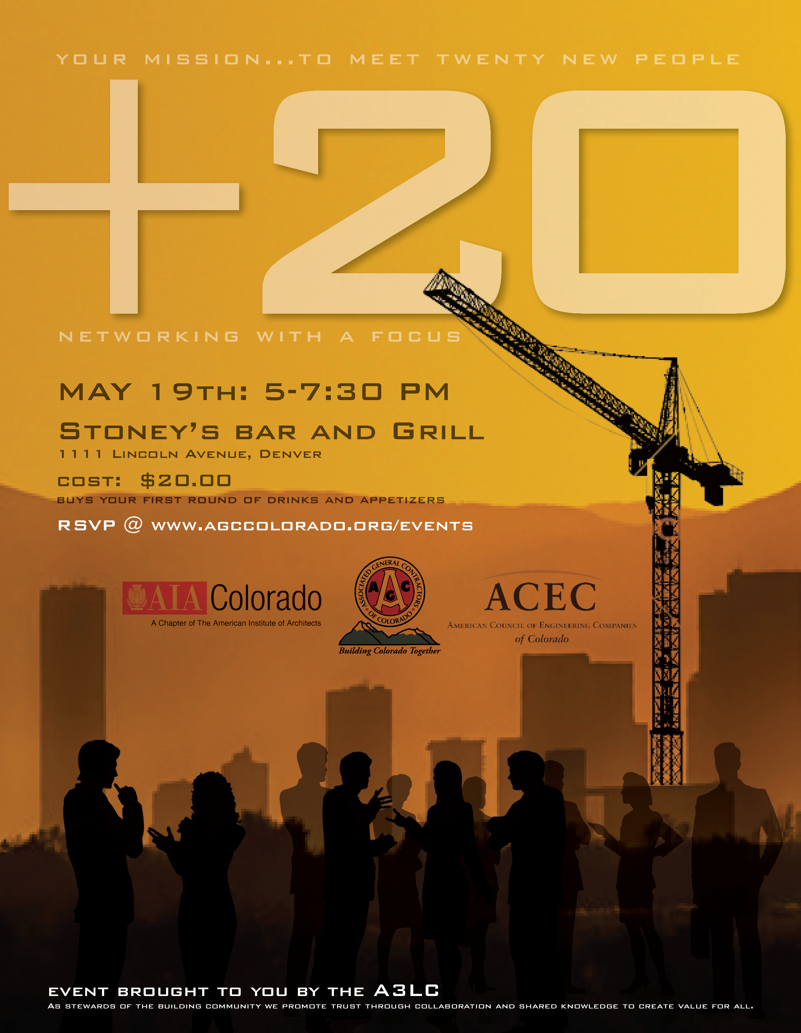 A#3LC_20+ Networking_Denver CO