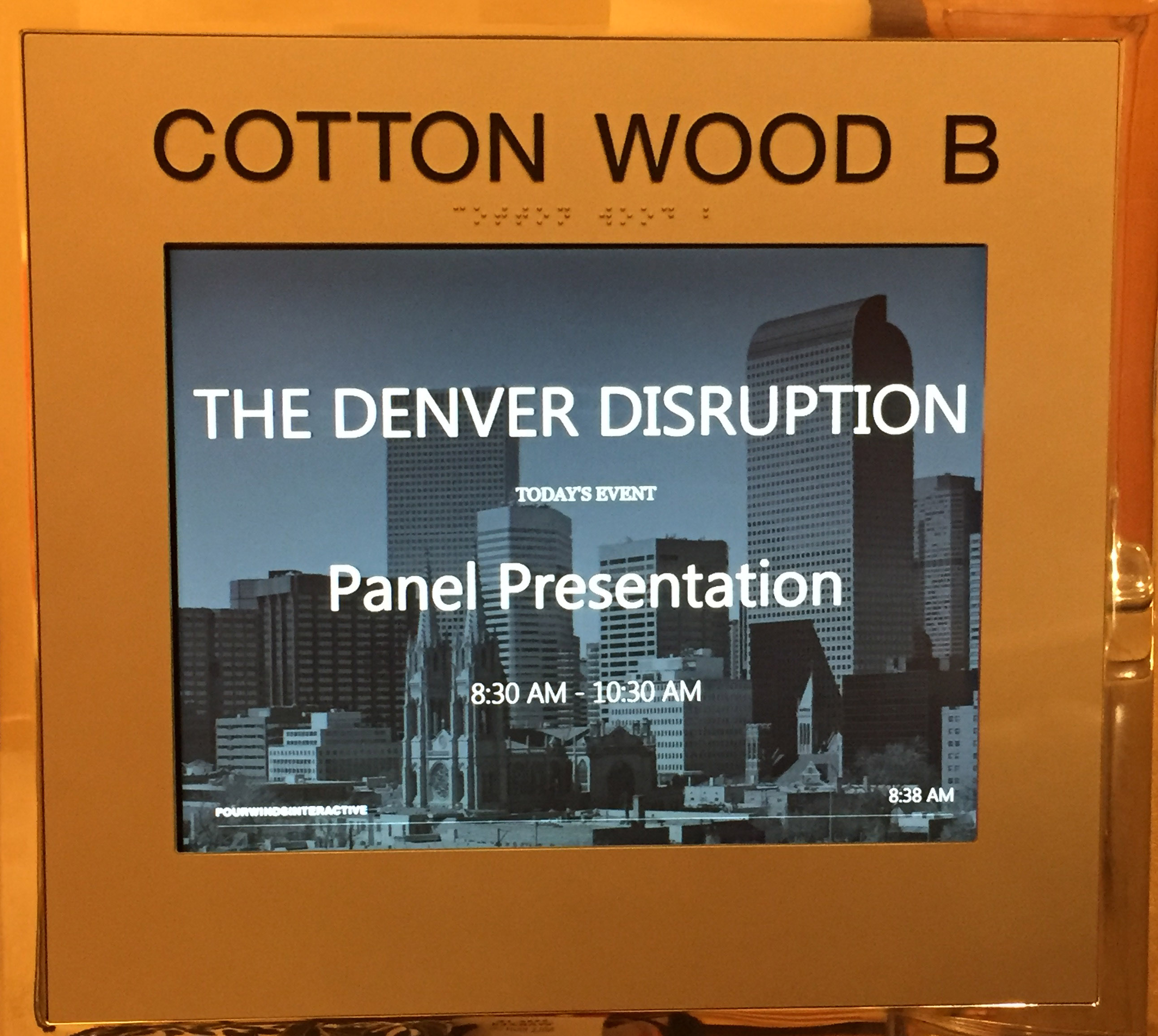 Denver Bisnow_Denver Disruption_Four Season Denver