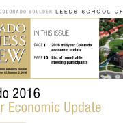 CO's Economy Outperforms Nation According to CO Business Review 2016 Mid-Year Update