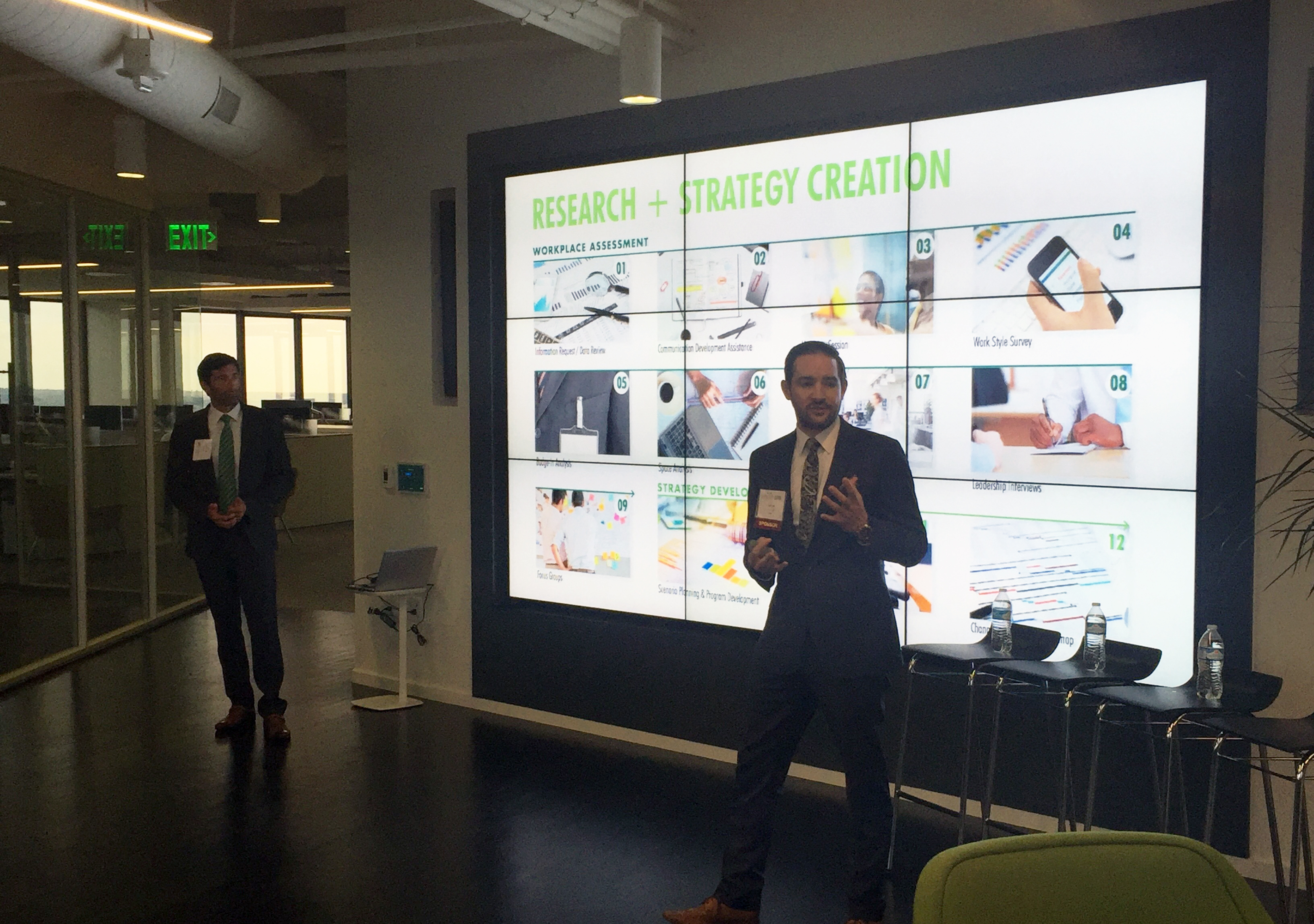 Event Round-Up: Coming Undesked, CBRE Office Tour