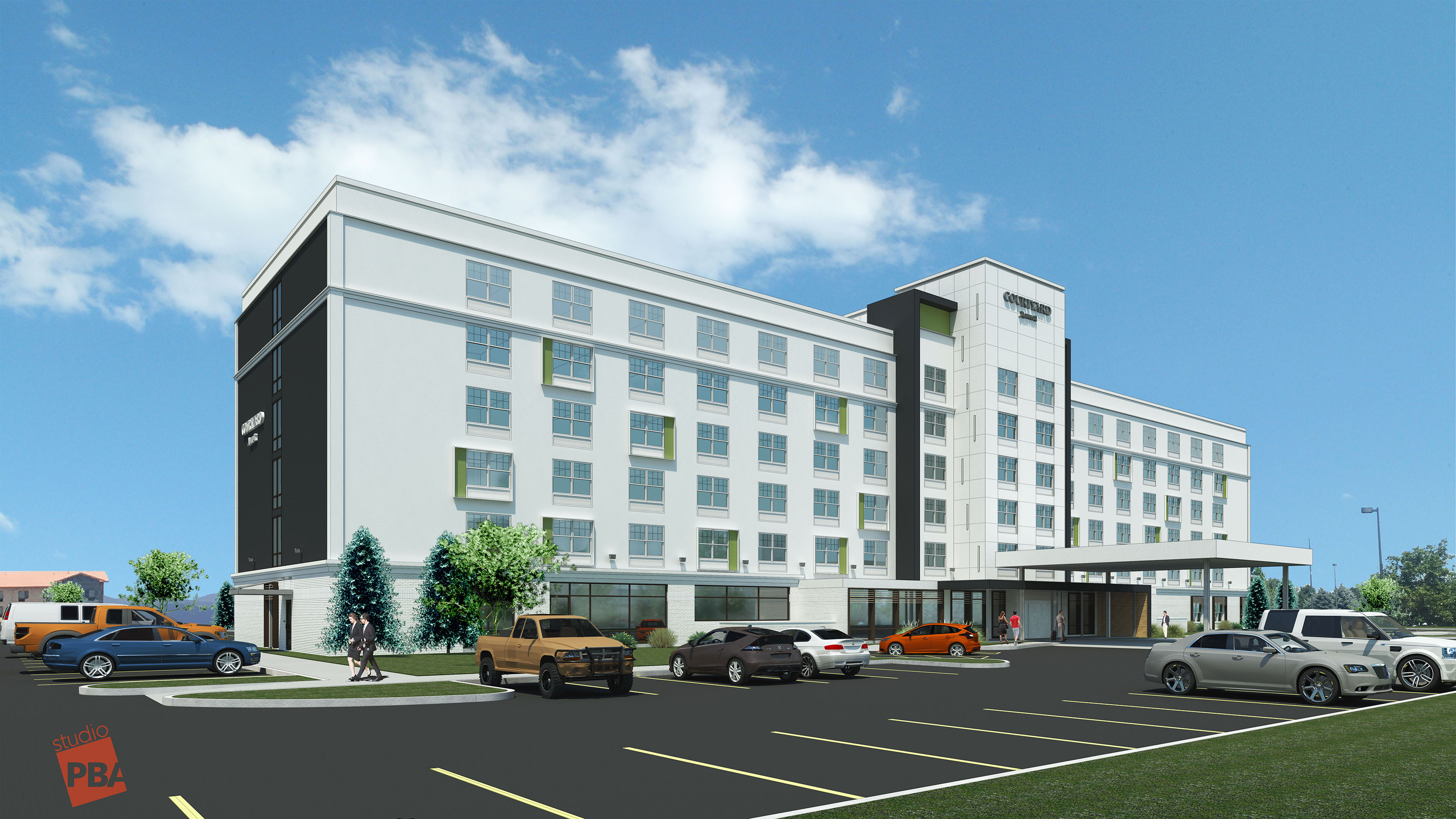 Stonebridge Companies_Courtyard DIA_Denver CO
