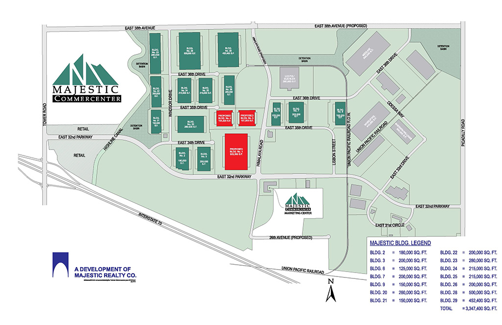 Majestic Realty Co Master Plan_Majestic Commercenter