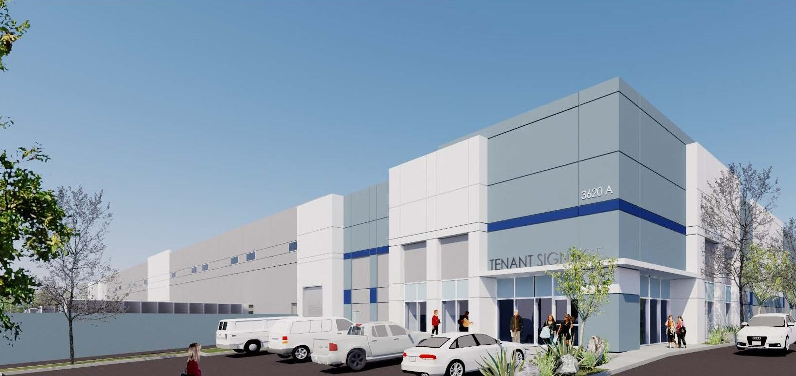Opus_Rangeview Industrial Center_rendering