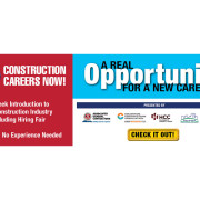 Combating Construction Labor Shortages w/ Over 100 Participants Already Registered for Construction Careers Now