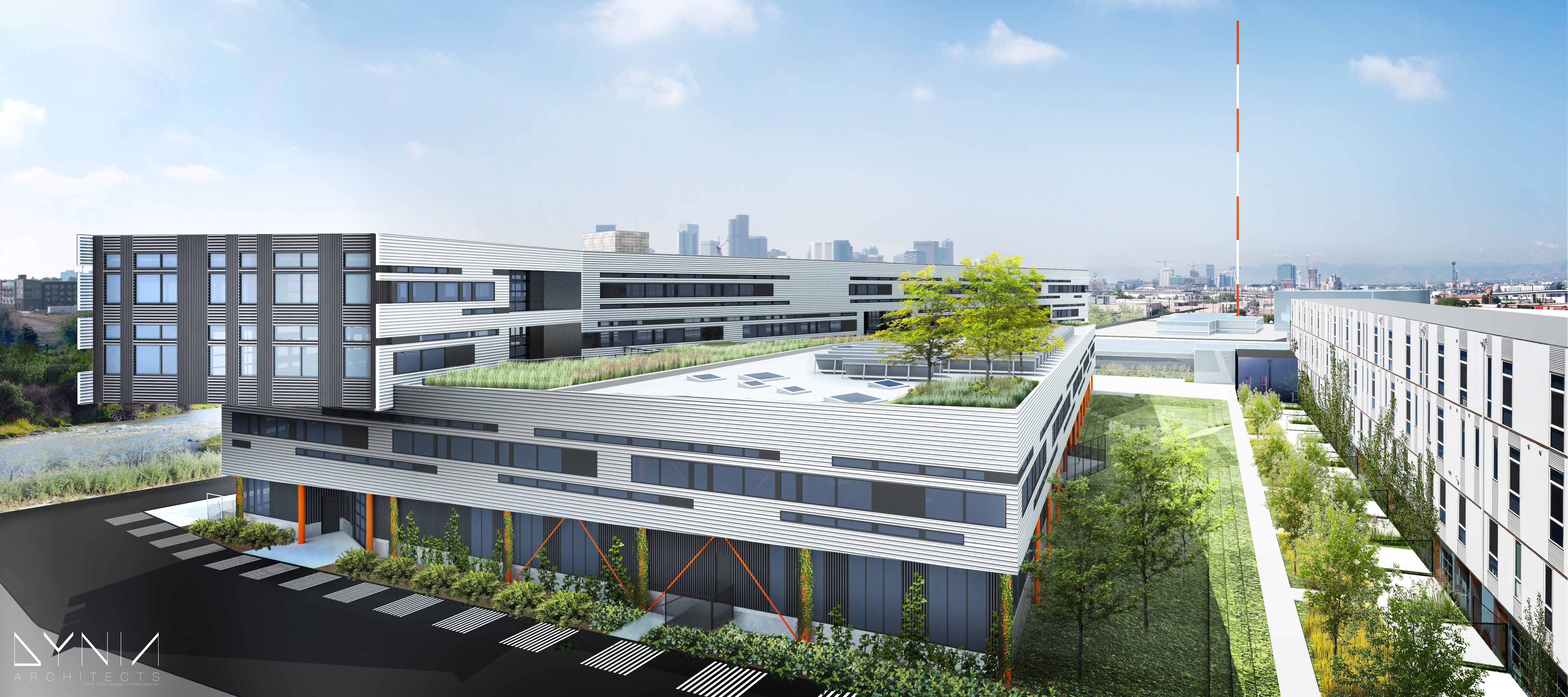Zeppelin Development Begins Construction on Built-to-Suit Office for Boa Technology at TAXI Site in RiNo