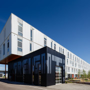 Dynia Architects Receives AIA Western Mountain Region Design Excellence Merit Award for FREIGHT RESIDENCES at TAXI