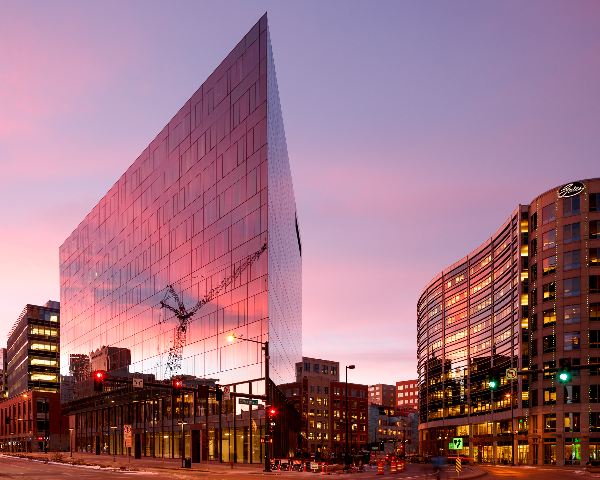 East West Partners_LEED Gold Triangle Building_Denver CO