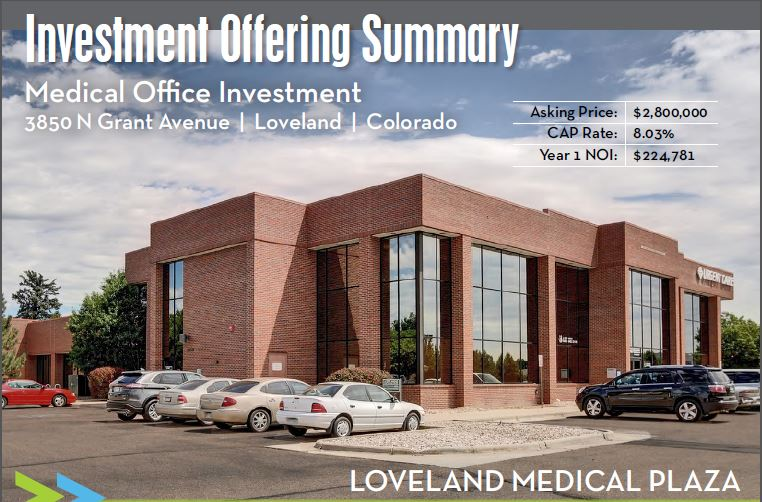 NavPoint Real Estate Group_Medical Office Building_Loveland CO