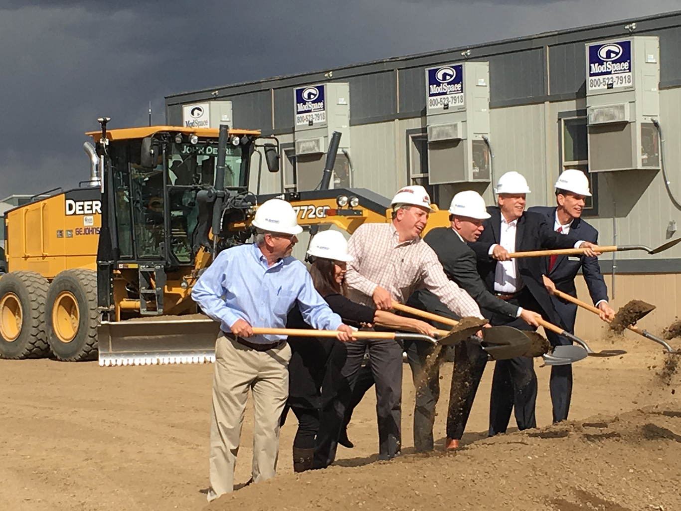 GE Johnson_agilent-technologies-groundbreaking