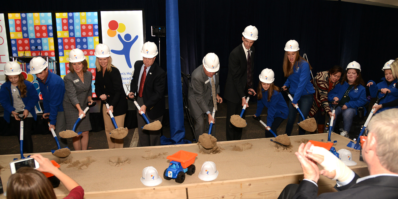 Children's Hospital Groundbreaking_Colorado Springs CO