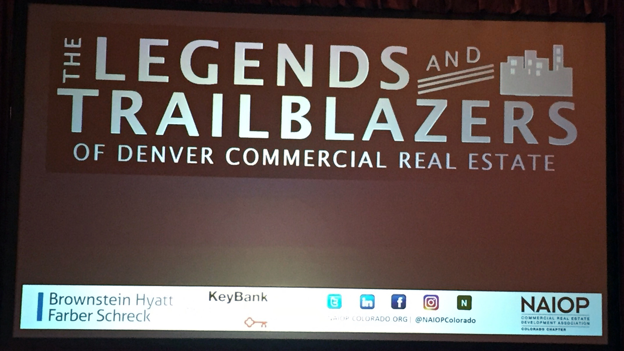 NAIOP Colorado_Legends and Trailblazers_Denver CO