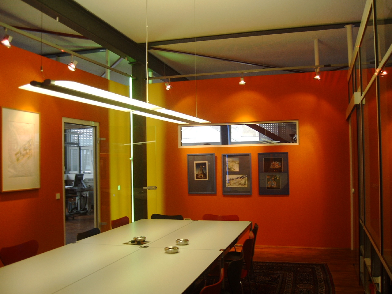 Converged Environment Office Space