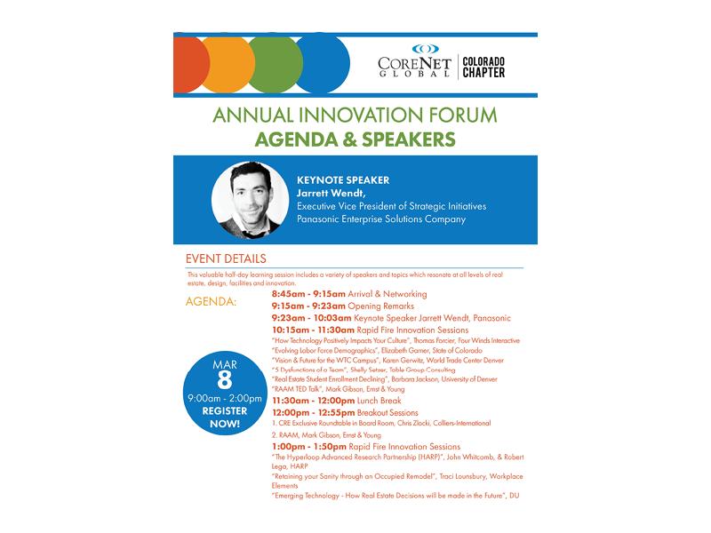 CoreNet Global Innovation Forum_Mar 8 2017