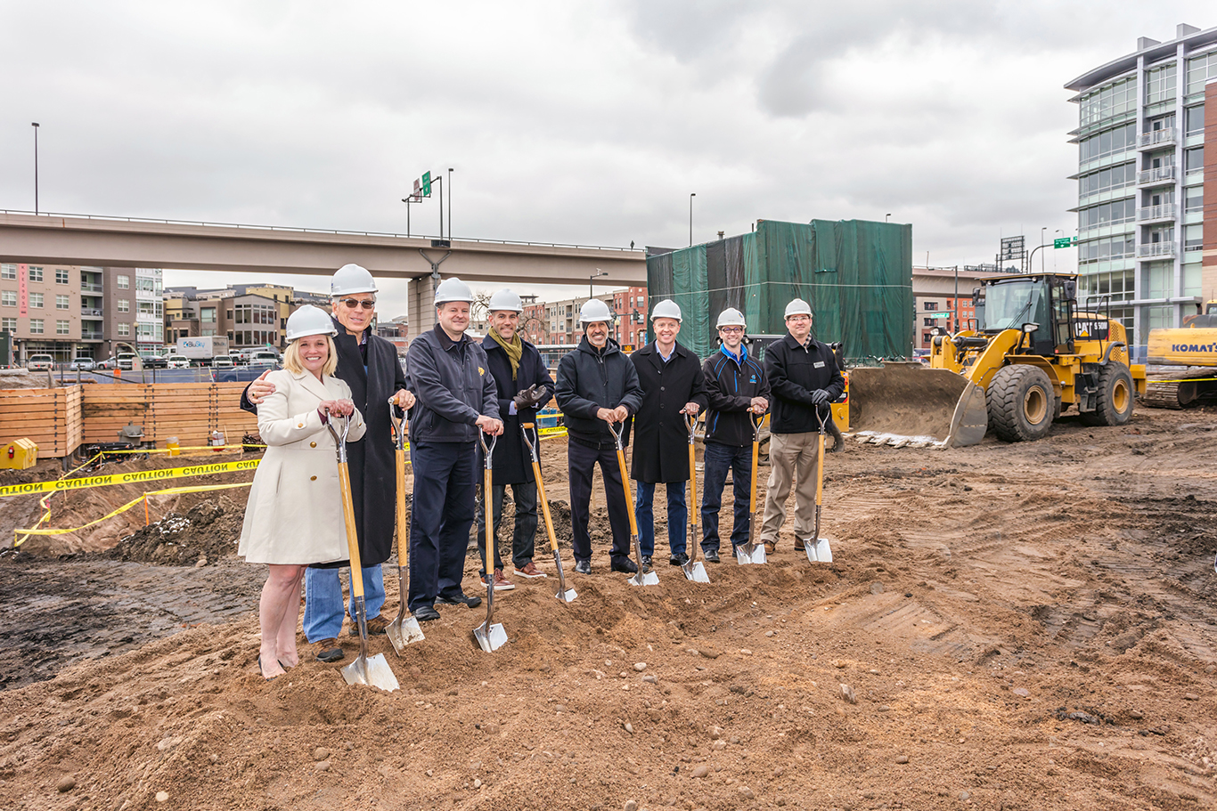 Event Round Up: Hilton Garden Inn Denver Union Station Breaks Ground