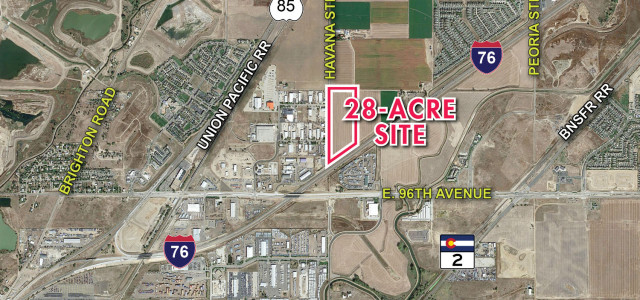 Rocky Crest RVB Purchases 28-acre site in Commerce City, Leases 10 Acres to Denver Intermodel Express and Plans New Industrial