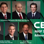 Seven CBRE Professionals Honored at Annual NAIOP Colorado Awards of Achievement