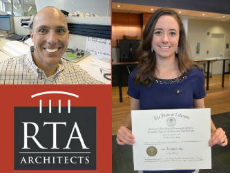 RTA Architects Congratulates Patti Sharp on ARE, Welcomes New Team Member