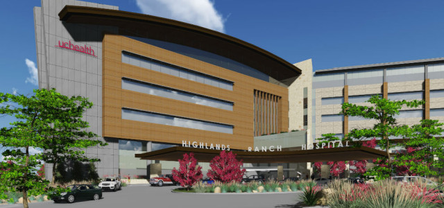 Mortenson selected to build UCHealth's new hospital in Highlands Ranch