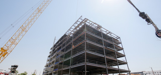 Koelbel & Company Celebrates the Topping Out of Catalyst in RiNo