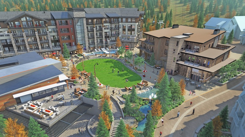 Snowmass Plaza Rendering