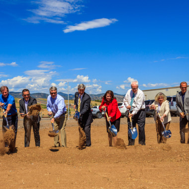 Sterling Ranch Breaks ground