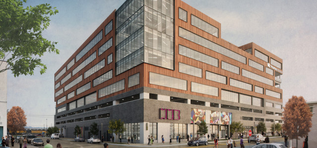 Groundbreaking: The HUB Brings Rail-Centric, Class A Office Space to RiNo