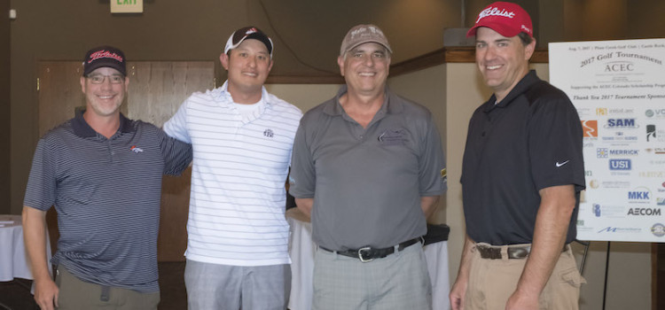 ACEC Colorado Golf Tourney Raises $13,000 in Scholarship Funds