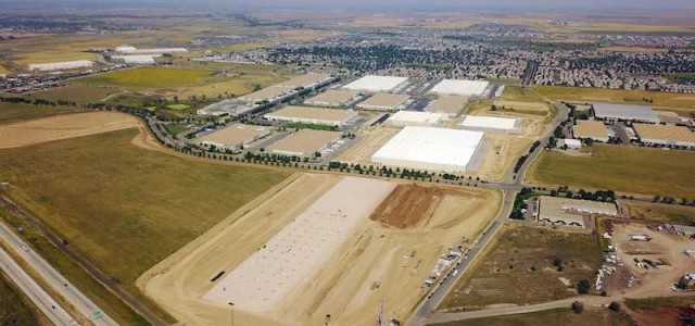 """Groundbreaking: """"Big Bomber,"""" Colorado's Largest Speculative Warehouse Facility"""