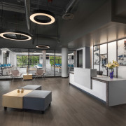Elsy Studios Remodels Interior of Historic Dodge Brothers Showroom