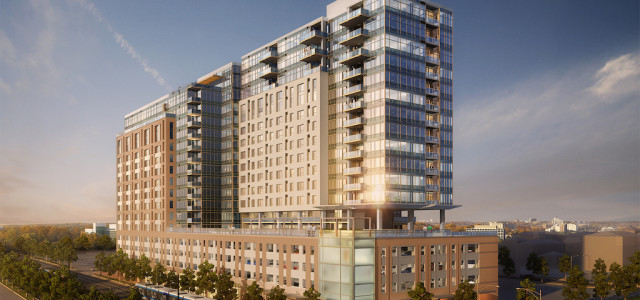 RNL Designs a Mixed-Use TOD in Denver's Arapahoe Square Neighborhood