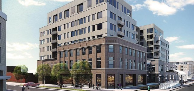 Topping Off: The Lydian Apartments in Five Points