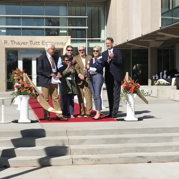 3 GH Phipps Colorado College Tutt Library Ribbon cutting 101417