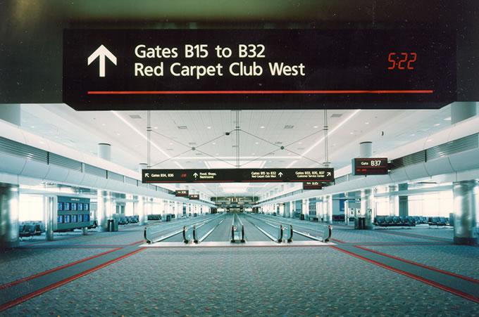 Denver International Airport - Concourse B Interior2