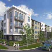 Senior Housing Project Under Construction in Lakewood