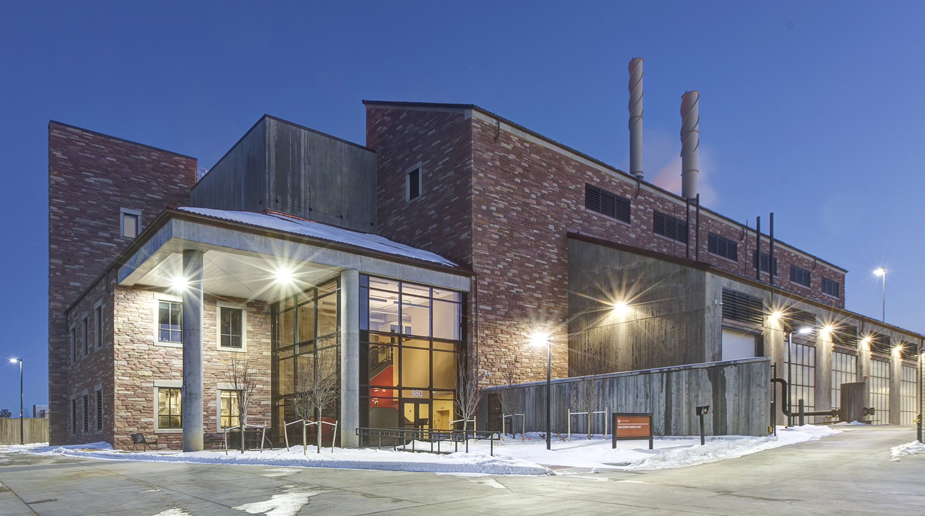 CU Boulder - East District Energy Plant - EDEP - RMH Group