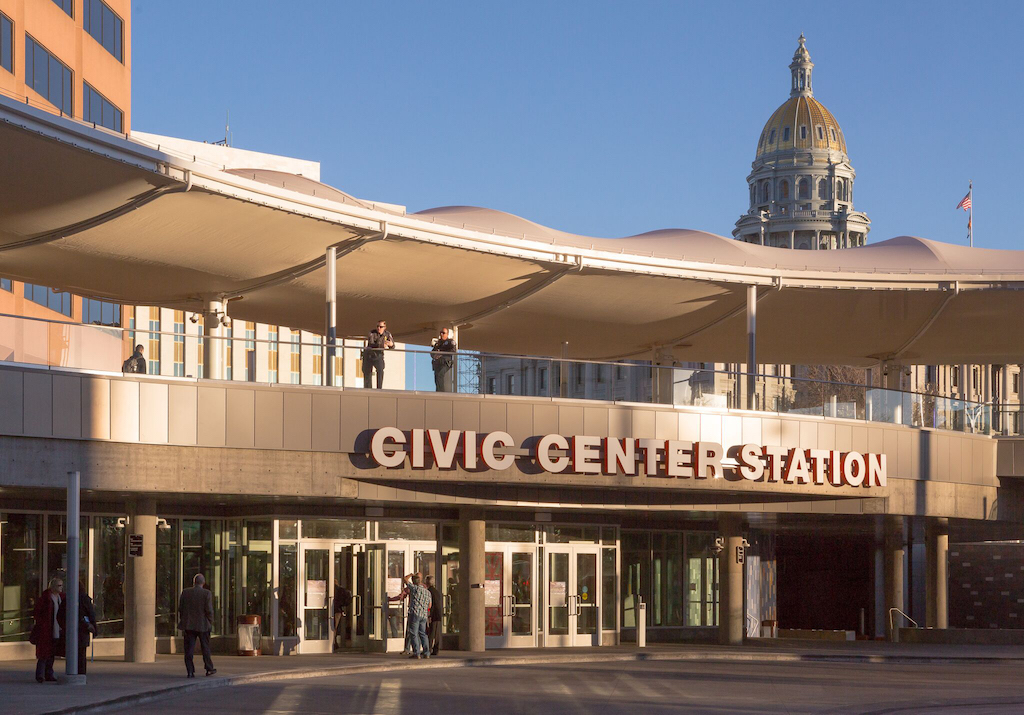 Civic Center Station and Capitol Dec. 2017