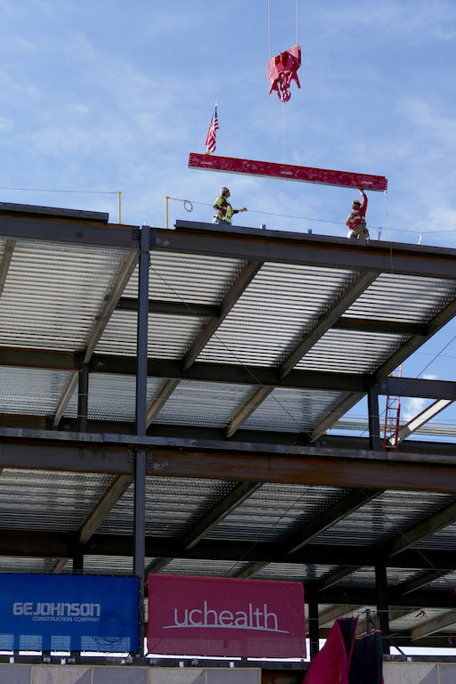 Large Expansion Project Tops Out at UCHealth, Colorado Springs