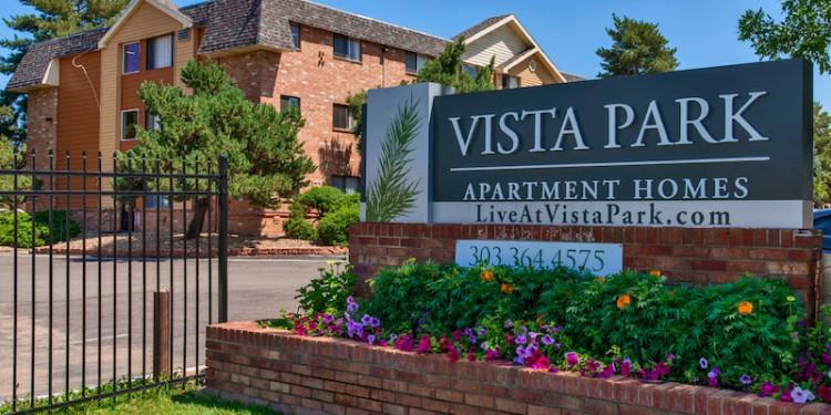 Vista Park apartments, Aurora, courtesy of ARA Newmark.