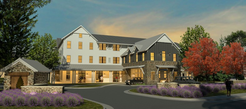 Balfour Lavender Farms, Louisville, courtesy of Balfour Senior Living.