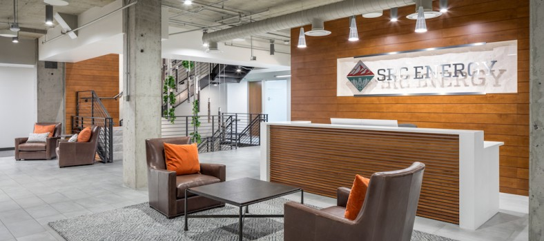 SRC Energy's Corporate Headquarters, Denver.