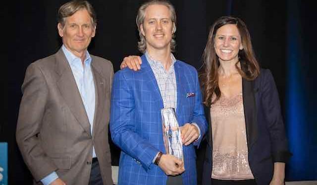 Chris Cowan, ARA Newmark, received DMCAR's BOTY Award.