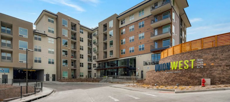 Union West Apartments, Lakewood.