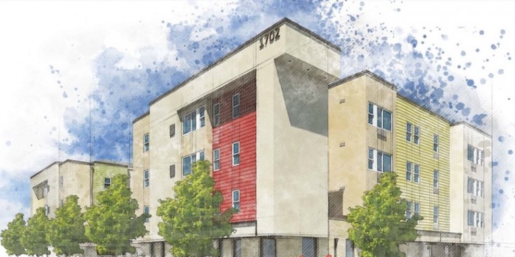 Paris Family Apartments is a 39 unit affordable housing complex that will be delivered to Aurora at 1702 Paris St., courtesy of Brothers Redevelopment.