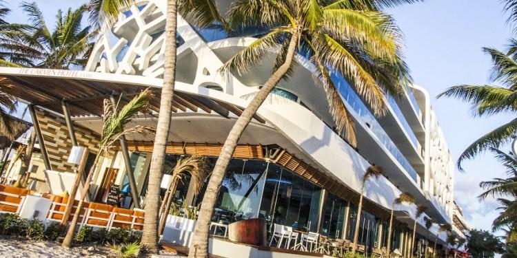 Carmen Hotel, Playa del Carmen, Mexico.
