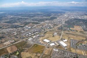 Aerial of Denver Clarion Gateway