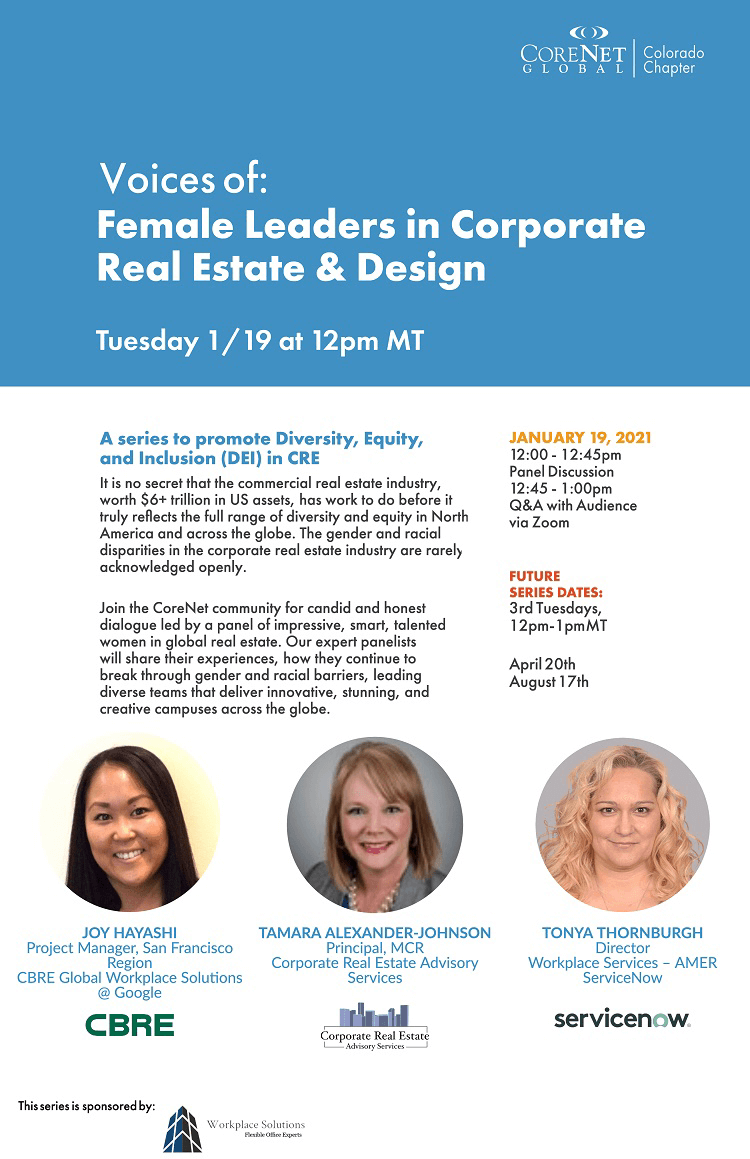 Voices of Series #2: Female Leaders in Corporate Real Estate & Design