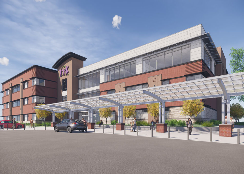 PCHC Eastside Clinic_Exterior_Rendering_05